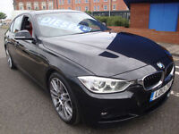 13 BMW 320D M-SPORT 184 BHP DIESEL £30 ROAD TAX **UPGRADE ALLOYS*LEATHER**