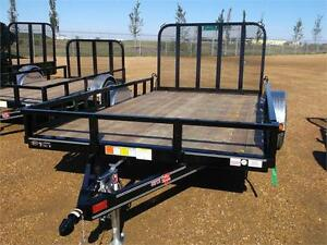 "REDUCED!!12' x 83"" Channel Utility Trailer (U8)"