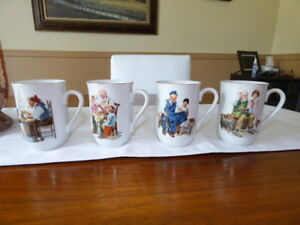 Collection tasses Norman Rockwell