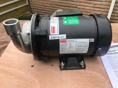 Dayton Stainless Steel Centrifugal Pump