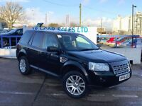 LAND ROVER FREELANDER 2.2 TD4 HSE 5d 159 BHP A LOW PRICE DIESEL (black) 2006