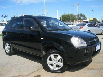 2006 Hyundai Tucson JM City Black 4 Speed Sports Automatic Wagon Maddington Gosnells Area Preview