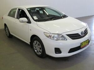 2014 Toyota Corolla ZRE152R MY11 Ascent Glacier White 4 Speed Automatic Sedan Westdale Tamworth City Preview