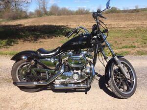 Vintage Harley Davidson Sportster