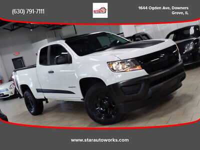 2017 Chevrolet Colorado Extended Cab Work Truck Pickup 2D 6 ft 2017 Chevrolet Colorado Extended Cab Work Truck Pickup 2D 6 ft