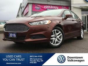 2016 Ford Fusion Local Lease Return, Low Mileage!