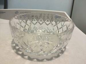 2 crystal bowls $10 & $12 Paralowie Salisbury Area Preview