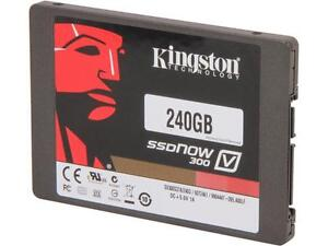 "Kingston SSDNow V300 SSD 240GB SATA III 6Gb/s 2.5"" Drive"