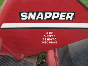 Snapper Rear Engine Rider, 8 Hp, 28 Inches Deck, Kawartha Lakes Peterborough Area image 5