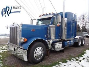 2007 PETERBILT 379L, REBUILT CAT ENGINE, NEW TRANSMISSION