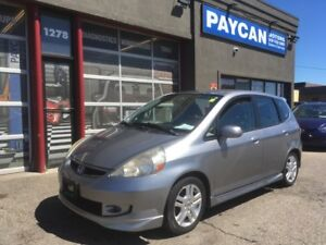 2008 Honda Fit Sport   FINANCING AVAILABLE!!