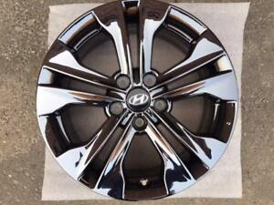 """OEM Hyundai 17""""x7"""" PVD Black Chrome"""