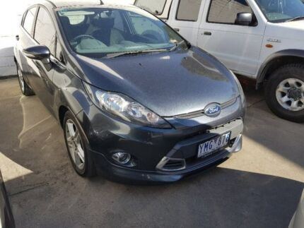 2011 Ford Fiesta WS Zetec Grey 5 Speed Manual Hatchback Dandenong Greater Dandenong Preview