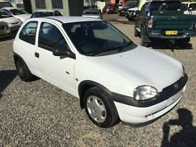 1999 Holden Barina SB City White 4 Speed Automatic Hatchback Jewells Lake Macquarie Area Preview