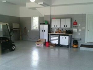 WORLD'S BEST GARAGE FLOORING! Polyaspartic