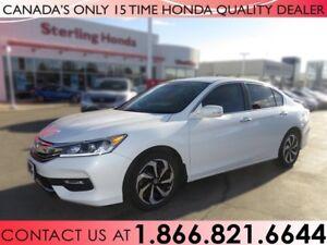 2016 Honda Accord Sedan EX-L | 1 OWNER | NO ACCIDENTS