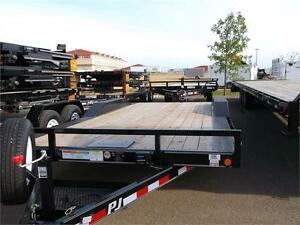 "20' x 5"" Channel Car Hauler Trailer - 7K GVWR (B5A)"