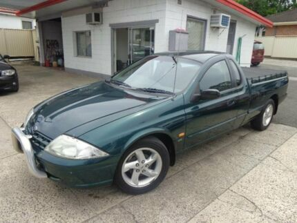 2000 Ford Falcon Auii XLS (LPG) Green 4 Speed Automatic Utility Sylvania Sutherland Area Preview