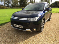 2014 (64) Mitsubishi Outlander 2.2 DI-D GX3 4X4 Leather 7 Seat Auto