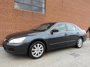 2007 Honda Accord Sdn EX-L LEATHER SUNROOF HTD SEATS SAFETY INCL