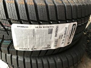 New Continental Contact SI Winter Tires. Compare at $650.