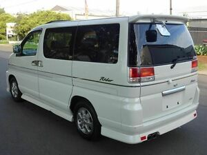 2000 Nissan Elgrand E50 Rider White 4 Speed Automatic Wagon Taren Point Sutherland Area Preview