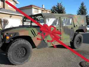 Humvee 1991 AM General Hummer Military Wagon-M998 HMMWV