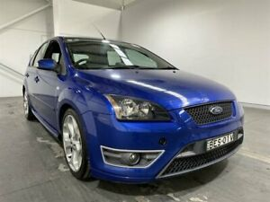 2007 Ford Focus LT XR5 Turbo Blue 6 Speed Manual Hatchback Beresfield Newcastle Area Preview