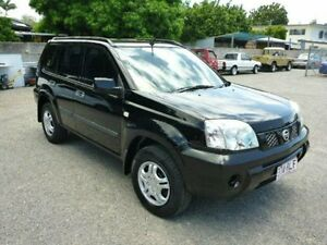 2007 Nissan X-Trail T30 II MY06 ST Black Manual Wagon Townsville Townsville City Preview