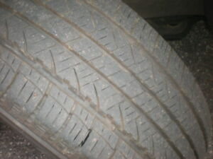4 Like New Tires 225-60-17  All Season Tires