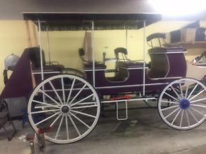 Antique Horse Drawn Wagons and Carriages Stony Plain Ab.