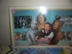 collectors Wizard of Oz Place mat-License plate-Tin boxes-mirror