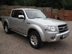 2008 08 Ford Ranger 2.5TDCi 4x4 XLT Thunder Double Cab Silver metallic