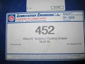 LUBRICATION ENGINEERS 452 ALMASOL CHAIN AND GEAR LUBRICANT