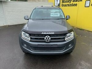 2016 Volkswagen Amarok 2H MY16 TDI420 4Motion Perm Highline Grey 8 Speed Automatic Utility Invermay Launceston Area Preview