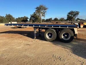Trailer Flat Top Bogie 20ft twist locks SN1073 AK25075 Malaga Swan Area Preview