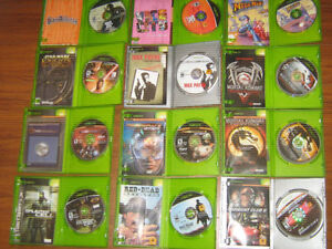 Looking to trade original Xbox games for nes/snes/n64/gamecube