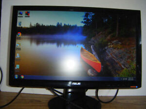 20 inch Asus lcd Flatscreen monitor for sale in Truro.