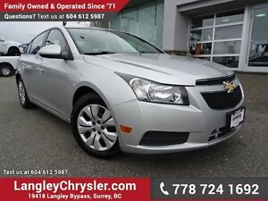 2012 Chevrolet Cruze LT Turbo ACCIDENT FREE w/ POWER WINDOWS/...