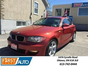2008 BMW 1 Series 128i - SUMMER READY! COME SEE IT TODAY