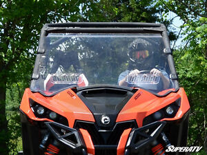 Can-Am Maverick Scratch Resistant Vented Full Windshield Kingston Kingston Area image 1