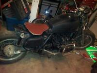 Bobber converted from Goldwing