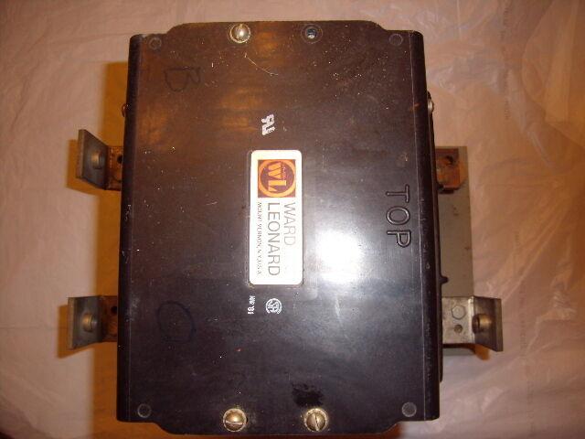 RDP8-20100 WARD LEONARD DP CONTACTOR 535 AMPS 600VDC 2POLE 500 amp
