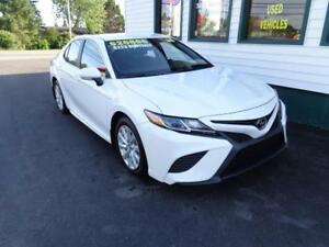 2018 Toyota Camry SE for only $219 bi-weekly all in!
