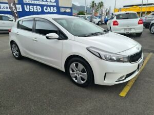 2017 Kia Cerato YD MY18 S Snow White 6 Speed Sports Automatic Hatchback Bungalow Cairns City Preview