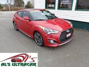2016 Hyundai Veloster Turbo loaded with all options!