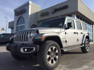 2018 Jeep All-New Wrangler Unlimited Sahara | Demo