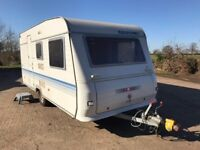 Adria Altea 461DB 5 Berth caravan. 2004. No damp. Good condition with a few minor snags
