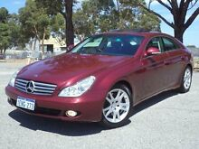 2005 Mercedes-Benz CLS 219 350 Maroon 7 Speed Automatic G-Tronic Coupe Maddington Gosnells Area Preview