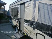 **HOT WATER! **SLEEPS 7! **LOTS OF STORAGE! *TENT TRAILER 4 SALE